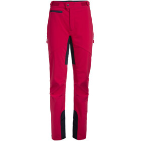 VAUDE Qimsa II Softshell Broek Dames, cranberry